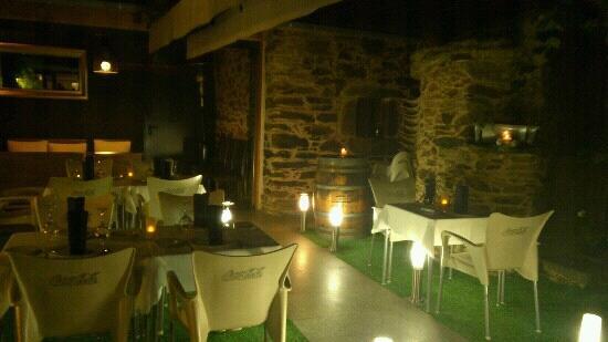 A Casa da vina: terraza exterior