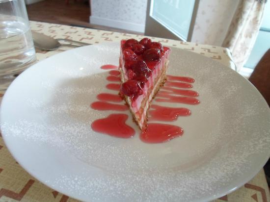 Amici Ristorante: Lovely cheescake