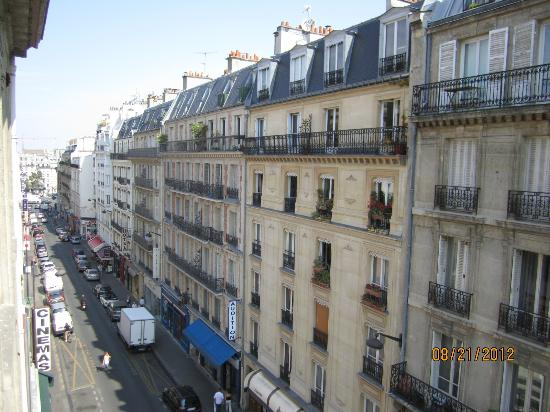 Hôtel Odessa Montparnasse: View from 3rd floor