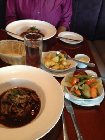 The French Table: Seven hour lamb shoulder and sides