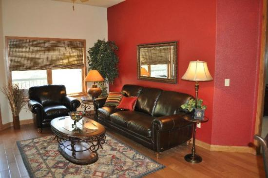 Ruidoso River Resort: Living Area