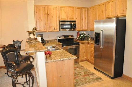 Ruidoso River Resort: Kitchen
