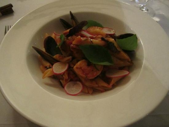 Receptoria : Pasta with seafood