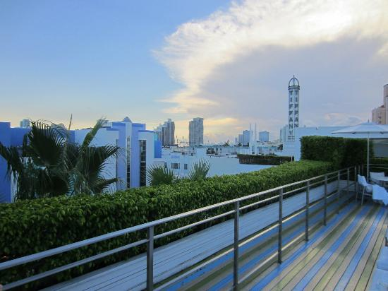 The Hotel of South Beach: View from rooftop pool