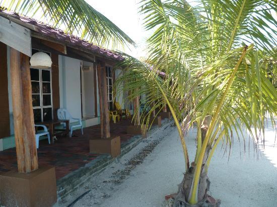 Senari Bay Resort: L'un des deux couloirs de chambres