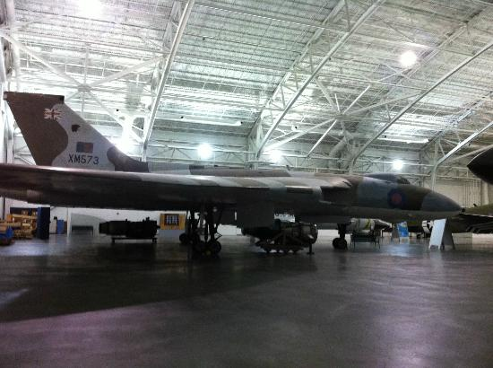 "Strategic Air Command & Aerospace Museum: Avro Hawker Siddeley Mk II ""Vulcan"", S/N XM573"