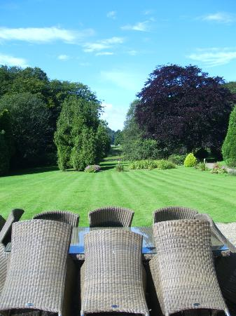 Wrea Head Hall: Garden view