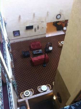 Radisson Hotel Lubbock Downtown: atrium