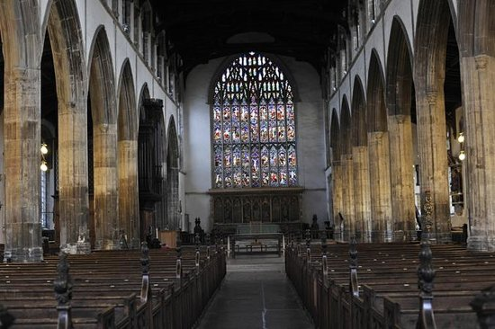 St Nicholas' Chapel: Part of the interior of St Nicholas