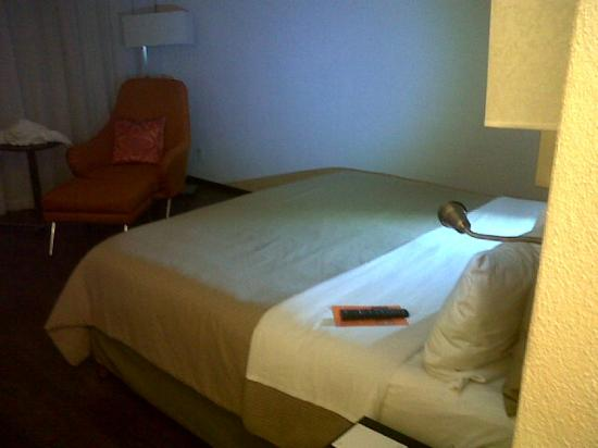 Fiesta Inn Leon : Bed and chair