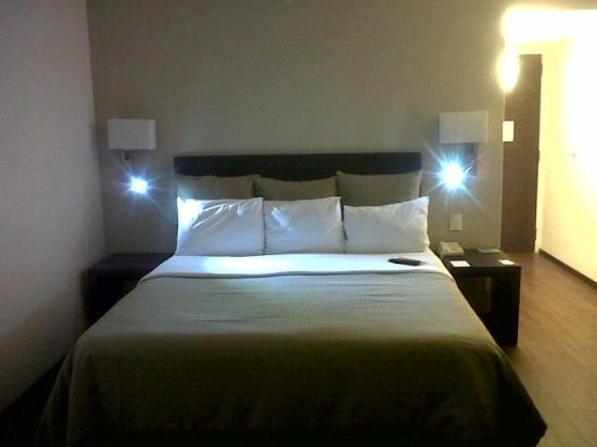 Fiesta Inn Leon : Bed