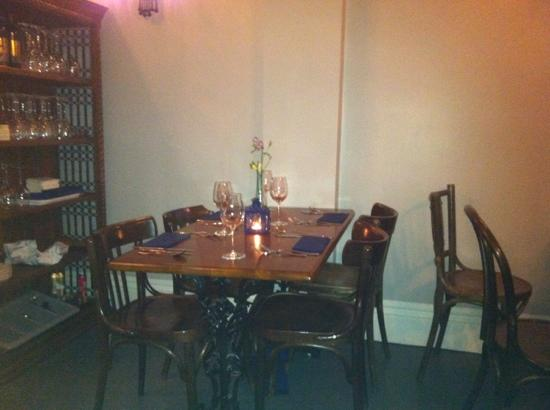 Fratelli: table