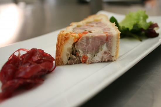 Oréade Restaurant et Balnéo : Terrine de viande