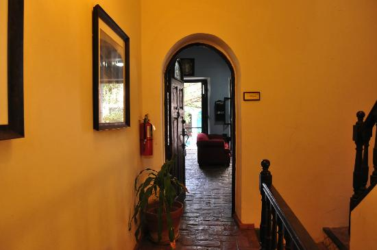 Caleta 64 Apartment: view from inside to outside hallway