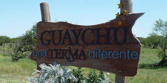 Gualeguaychú, Argentina: cartel acceso