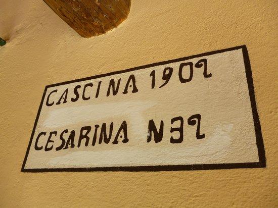 Cascina Cesarina B&B: A nice touch.