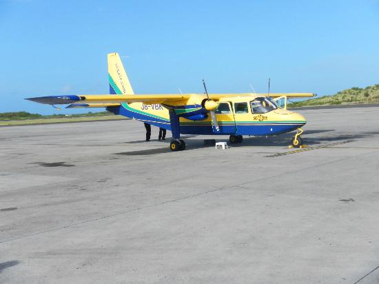 Simply Carriacou Island Tours: Our flight to Carriacou