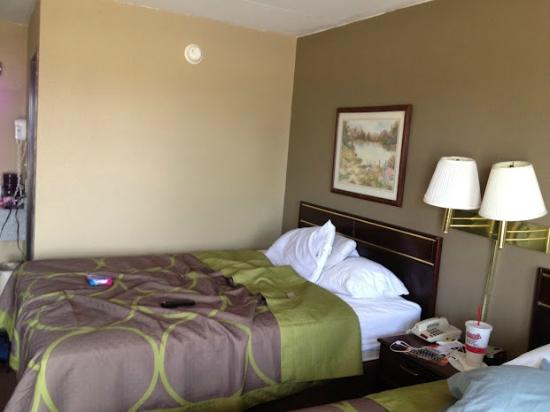 Super 8 Morrilton: Room 1