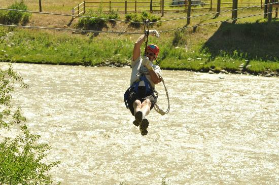 Glenwood Canyon Zipline Adventures: WEEEEEEEE now this is a zipline