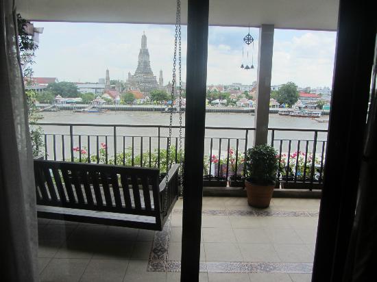 Sala Arun: Suite balcony