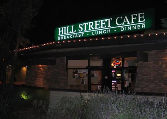 Hill Street Cafe La Canada Menu
