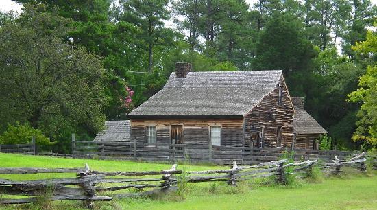 Bennett Place Historic Site: The Bennett House