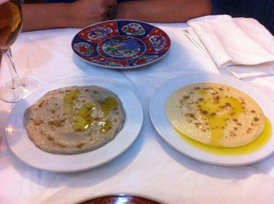 La Mancha Chica Chaoen: baba y humus
