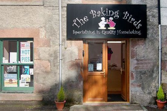The Baking Birds : Our wee shop