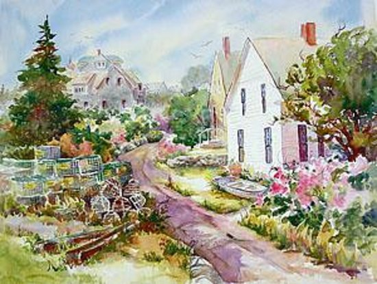 Jan Kilburn Watercolor Studio and Gallery Photo