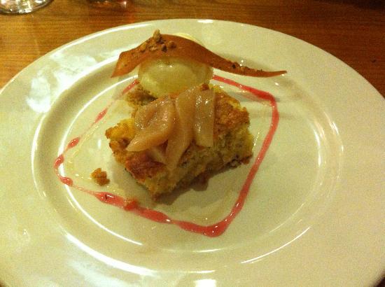 Pear Cake from the Edinburgh Larder Bistro