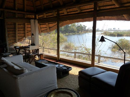 Wilderness Safaris Kings Pool Camp: Our view