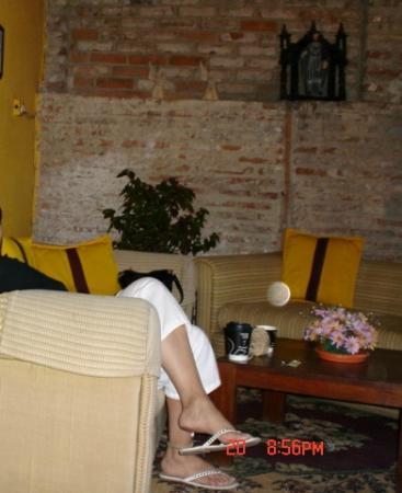 Hotel Convento Santa Catalina : living