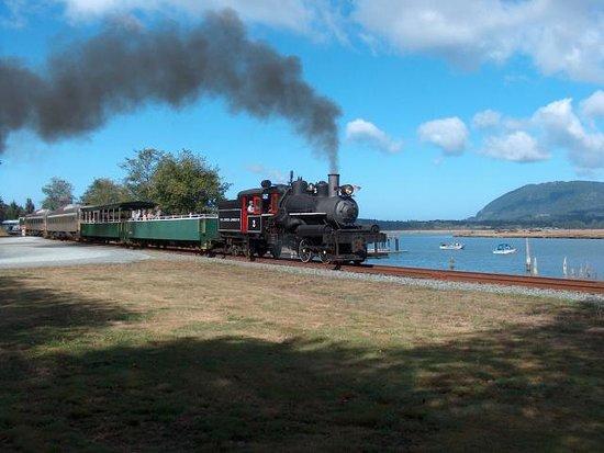 Oregon Coast Scenic Railroad Foto