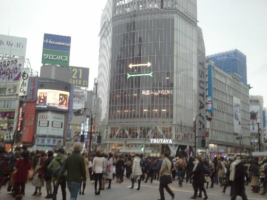 Citadines Shinjuku Tokyo: Shibuya Crossing
