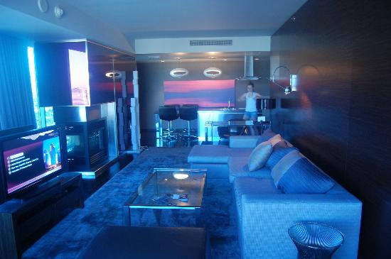 Palms Place Hotel and Spa : living room