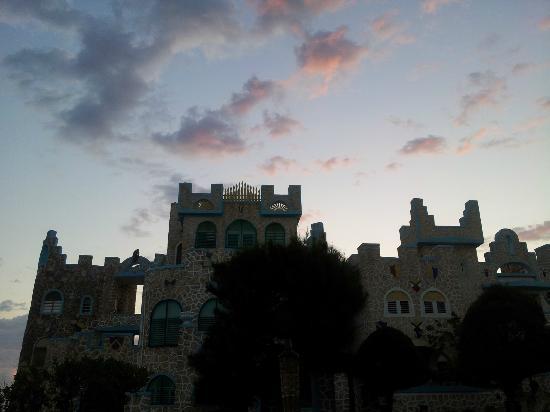 Blue Cave Castle at Sunrise
