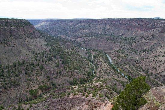 Wild Rivers Recreation Area: Rio Grande & Red River confluence