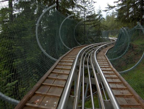 Alpine Coaster : This is the view from the cart