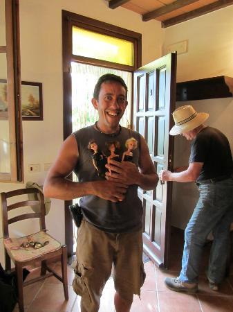 Agriturismo Il Casalone: Paolo