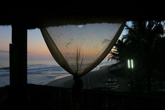 Hotel Restaurant La Playa: Payotte surplombant l'océan