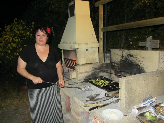 Agriturismo Il Casalone: Cooking our feast...