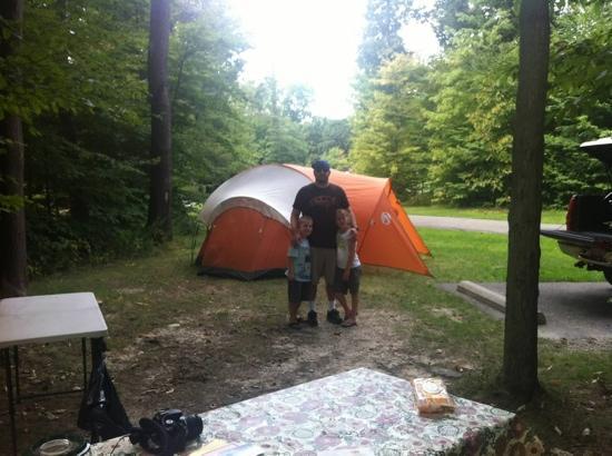 Ravenna, OH: Camping