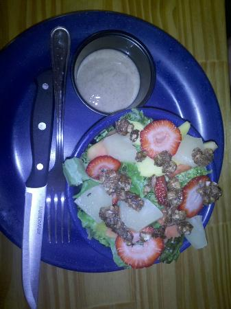 The Melt Away: Half portion of Reggae Salad