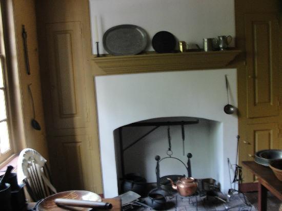 Todd House kitchen