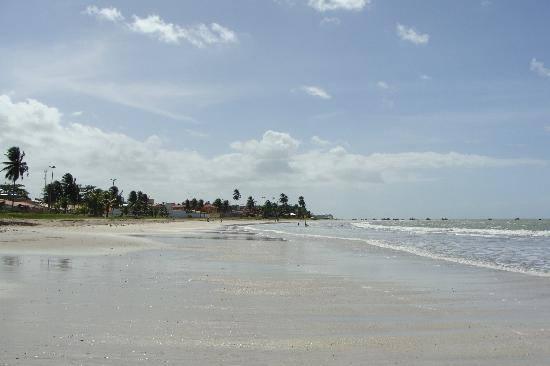 Praia de Paripueira: Praia calma e morna