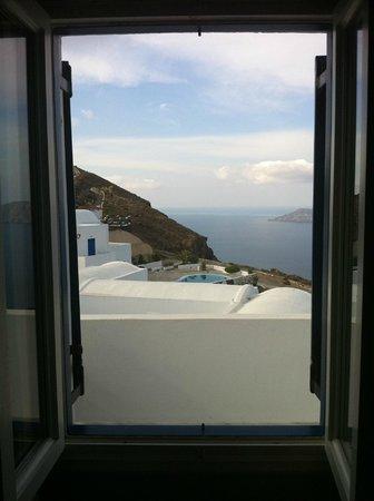 Santorini's Balcony: vista