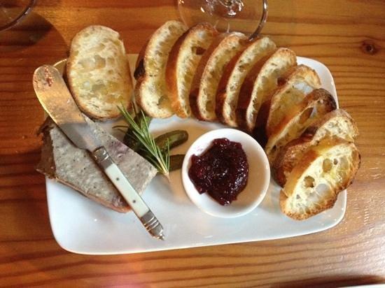 Vino Manzanita Wine Bar: Pheasant Pâté