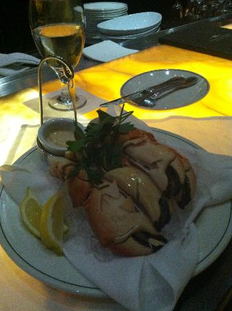 Truluck's Seafood, Steak and Crab House: Stone Crab Claws~ another delicious entree!