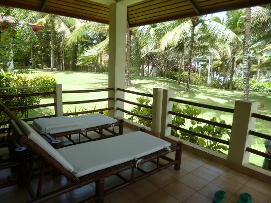 Henann Resort Alona Beach: balcony