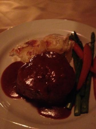Swiss Chalet Restaurant : steak Dianne